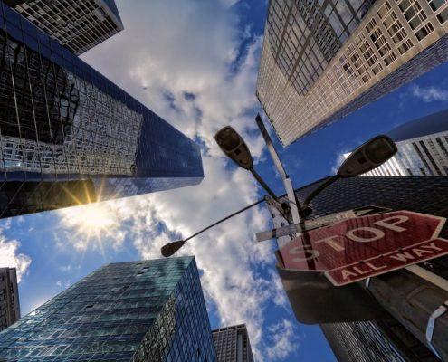 grattacieli di new york city
