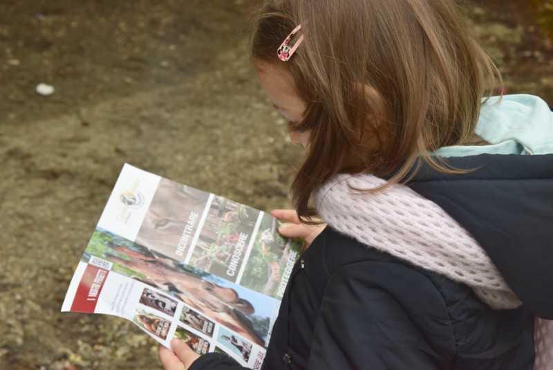 mappa zoo di pistoia