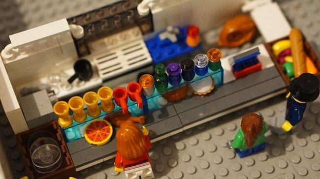 costruire con i lego