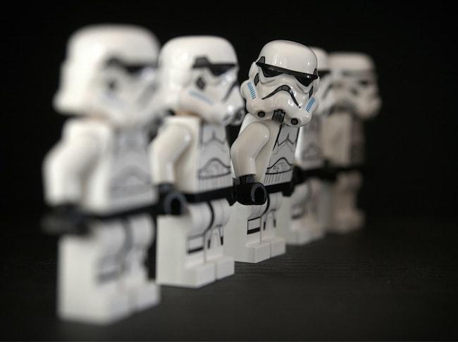 lego stormtruppers star wars