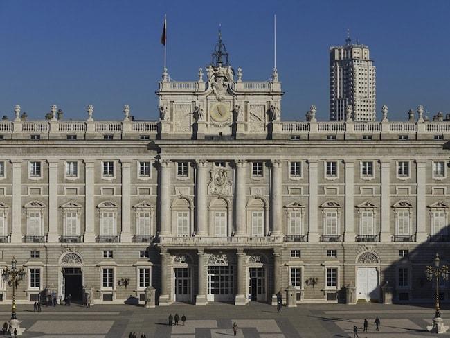 palazzo del re madrid