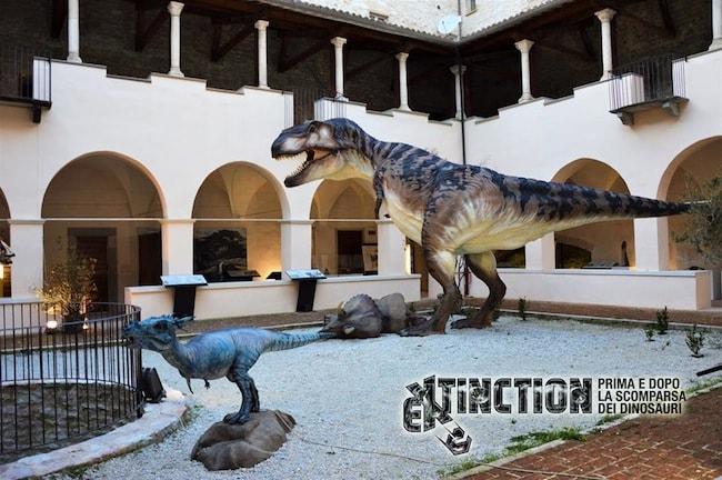 extinction dinosauri gubbio