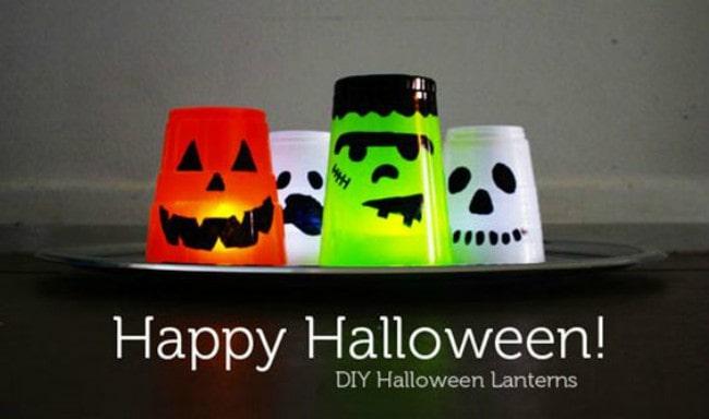 lavoretti halloween lanterne
