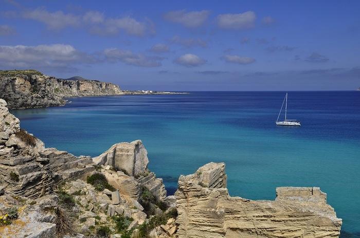 Isola di Favignana costa