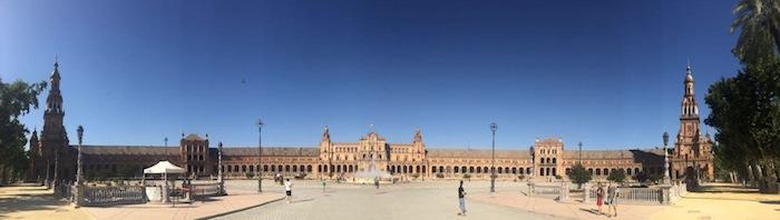 plaza de espana siviglia itinerario