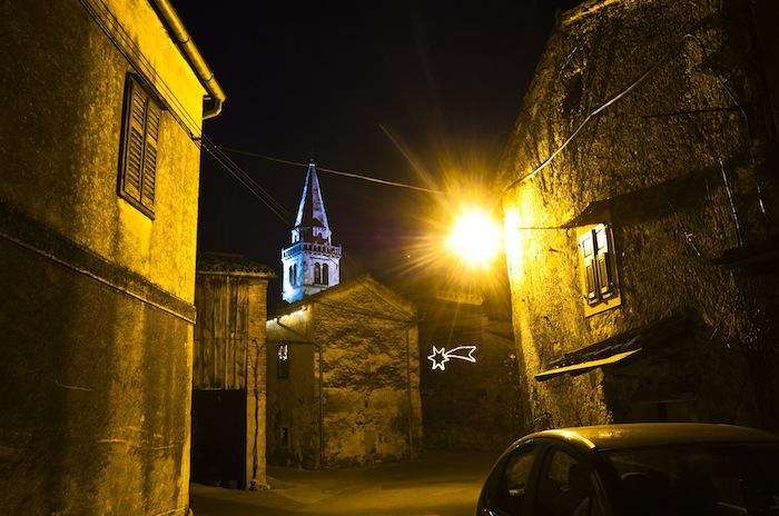 gozze slovenia villaggio in pietra