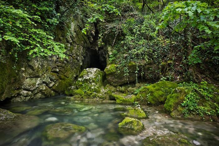 sorgente del fiume vipava slovenia