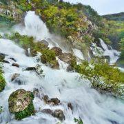 torrente valle del vipava in slovenia