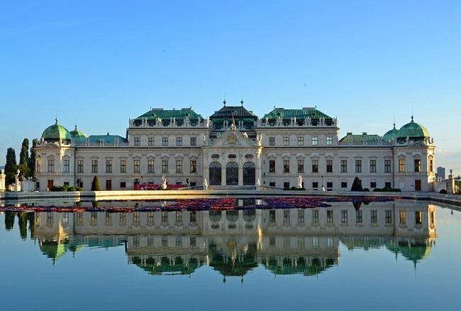 Castello Belvedere a Vienna