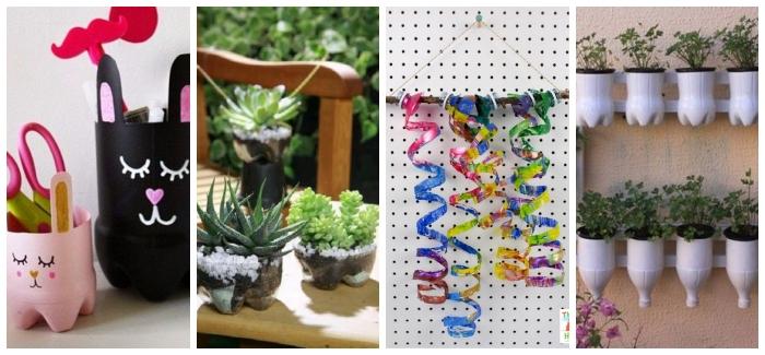 Oggetti In Plastica Per La Casa.Riciclare Bottiglie Di Plastica 10 Idee Per Decorare La Casa Con I