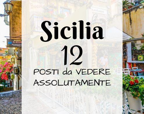 Cosa visitare in Sicilia: 12 posti da non perdere