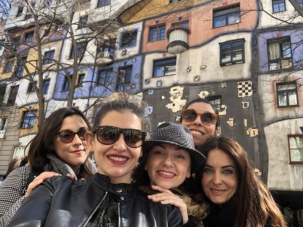 5 Mamme a Vienna: Hundertwasserhaus