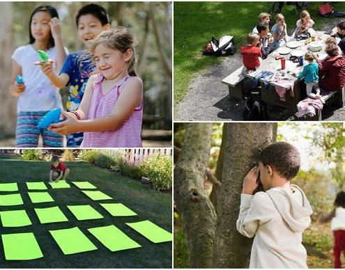 10 giochi all'aperto da fare con i bambini