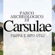 Il parco archeologico di Carsulae, mappa e info utili