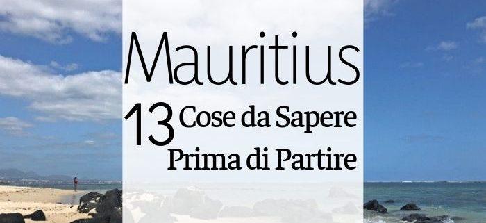 cose da sapere su Mauritius