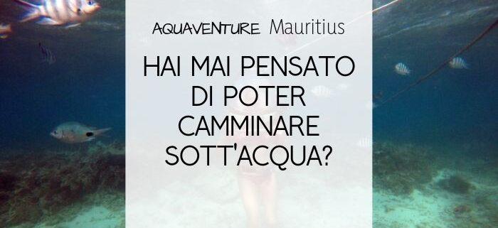 cosa fare a mauritius? Camminare sott'acqua