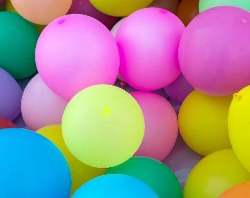 palloncini per festeggiare compleanno