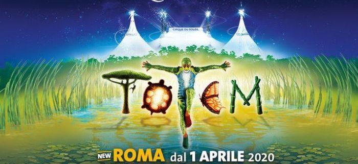 TOTEM il nuovo spettacolo del cirque du soleil