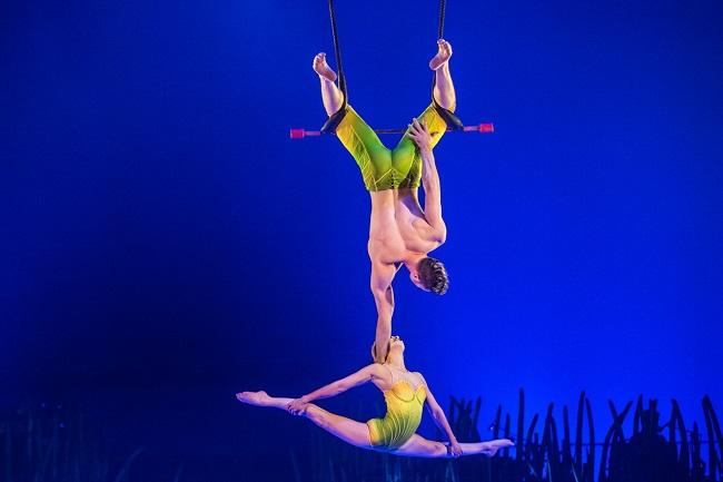 acrobati TOTEM cirque du soleil italia 2020