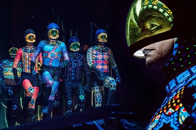 costumi e tecnologia per TOTEM del cirque du soleil