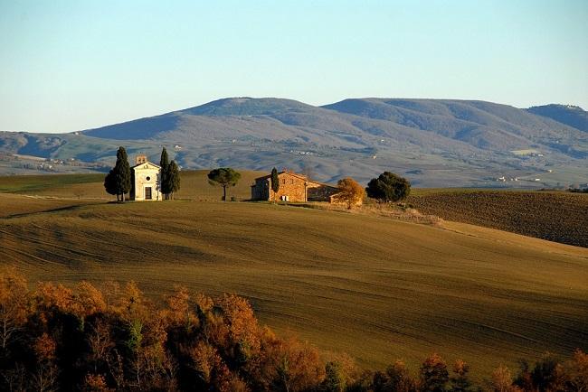 colline toscane in autunno